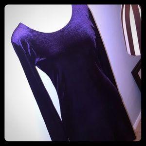Mimi Chica velvet dress